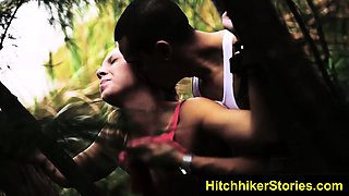 HelplessTeens Kaylee outdoor rough sex