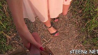 sexy teen erotically  excites sexy clip 1