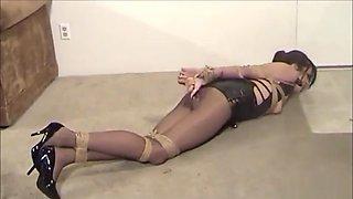 Stockings bondage 30