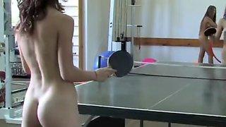 Russian or ukrainian nude girls exercise 5