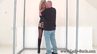 dominatrix is used as the unwilling switch