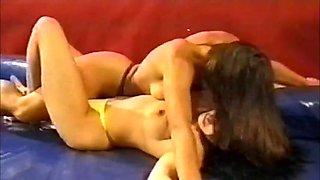 Girls wrestling 1