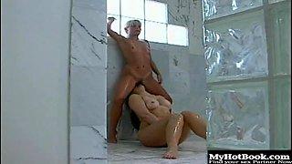 Coed Meridian plays a horny bulldyke that seduces
