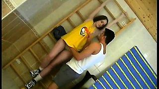 Hot gym teacher