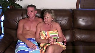 Real mom son interview fuck