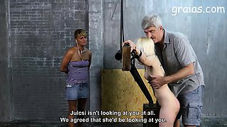 Two girl punished