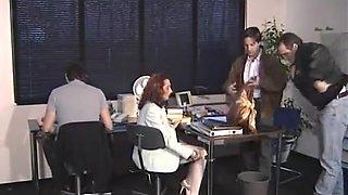 Le Ripou Stockings Secretary Nylon Legs