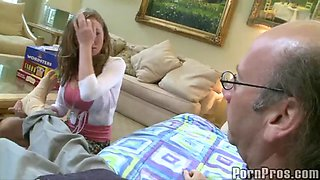 rough sex for an old guy with madison scott