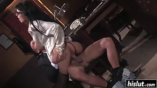 simony diamond got pounded in her office