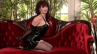 Emily addison in latex &amp rope