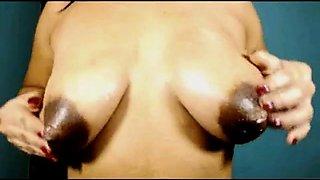 big nipples with milk