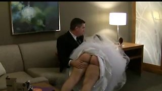 Spanked bride lily starr