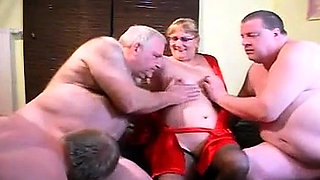 Hardcore bisexual group orgy