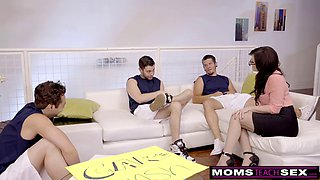 jennifer white gets all her holes smashed in a hot gb