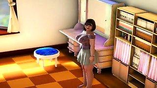 H Girl 3D