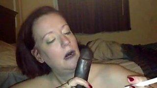 Mature White Woman Smoking And Sucking BBC