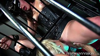 stella delacroix gets used by mistress bobby starr and a guy
