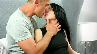 Sweet nympho gapes juicy slit and loses virginity