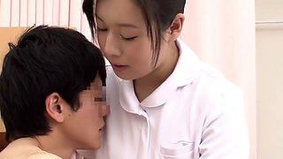 Crazy Japanese slut in Best Nurse JAV scene