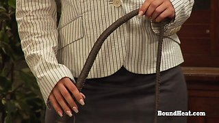 The Education of Adela Mistress Teaches Lady How To Treat A Slave