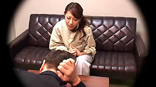 Japanese abode wife creampied by her boss
