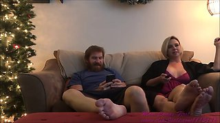 aunt and nephew....holiday misadventure