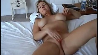 Bib boobed wife gets fucked on homemade webcam