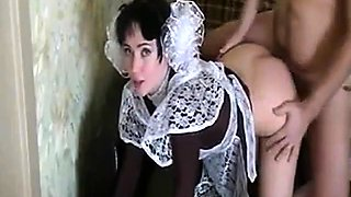 Hot Russian Blowjob and Sex