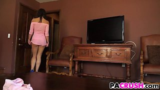 Taylor May Seducing Her Stepfather