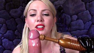 Mistress handjob hd pov