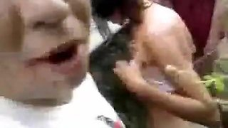 Exotic amateur shaved pussy, brazillian couple, public sex movie