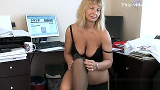 Dirty Wife Step-Mama Alex Seduces Hot Teen Son