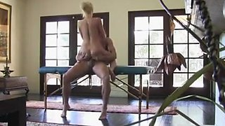 Cheating Blonde Housewife Riding Dick On Hidden Camera