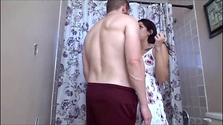 Sasha price fucks her brother in the bathroom