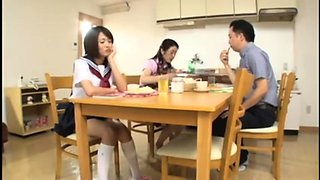 Adorable Oriental schoolgirl can't get enough hardcore sex