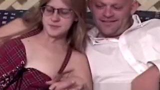 Retro spex amateur pussypounded