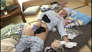 Japanese mom love story with young lover
