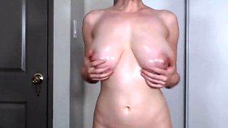 holy godfucking oiled up boobs