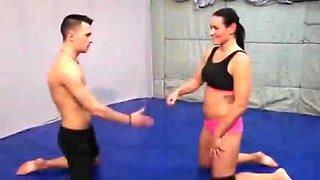 Mixed wrestling tia