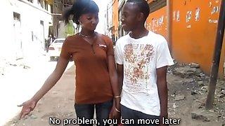real amateur african friends get frisky