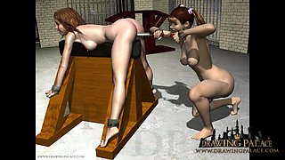 Fetish cartoons femdom compilation with hentaj and real sex