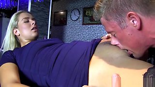 Bi Couple Invites Bartender In Their Dirty Sexual Game