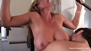 Julie k smith in the gym