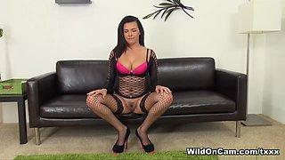 Incredible pornstar Danica Dillon in Crazy Big Ass, Masturbation xxx scene