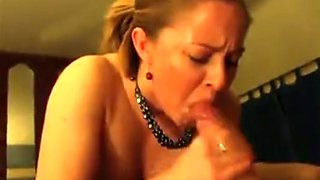 Wife Blowjob With Swallow