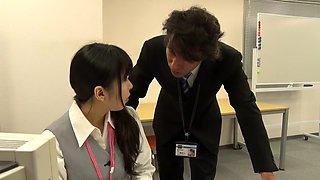 Fabulous Japanese whore in Best Office, Teens JAV scene
