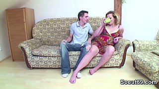 Petite Step-Son Seduce Pregnant mom to Fuck_720p