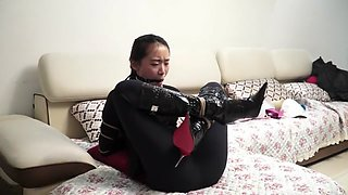 Chinese Office Girl Bondage