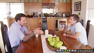 Brazzers - Baby Got Boobs - Keisha Grey and Mick Blue -  Thanks For The Ride