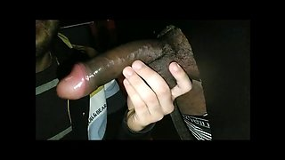 gloryholethess: black monster cock!